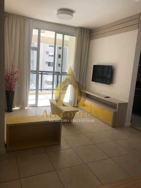 4 - Apartamento À Venda - Jacarepaguá - Rio de Janeiro - RJ - AOJ20103 - 1