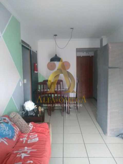 9 - Apartamento Rua Baronesa,Praça Seca, Rio de Janeiro, RJ Para Venda e Aluguel, 3 Quartos, 85m² - AOJ30020 - 3