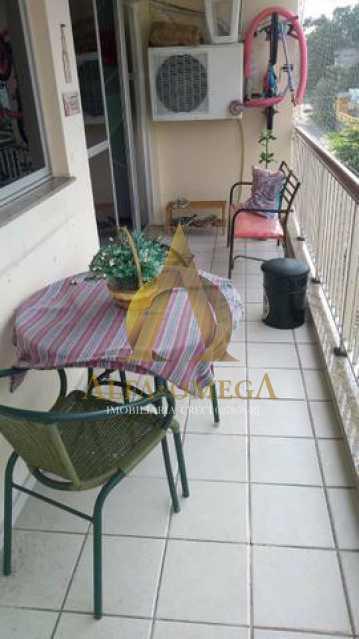 10 - Apartamento Rua Baronesa,Praça Seca, Rio de Janeiro, RJ Para Venda e Aluguel, 3 Quartos, 85m² - AOJ30020 - 4