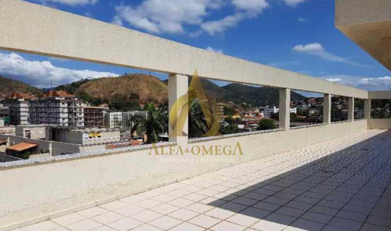 31 - Apartamento Rua Baronesa,Praça Seca, Rio de Janeiro, RJ Para Venda e Aluguel, 3 Quartos, 85m² - AOJ30020 - 30