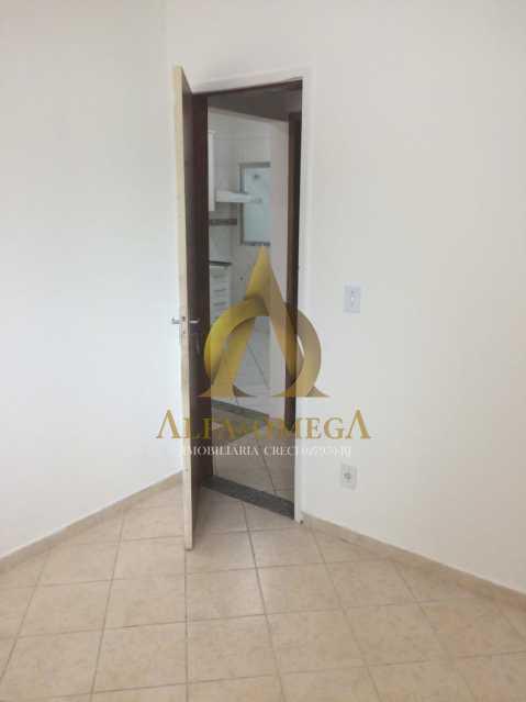 6 - Apartamento Rua Aloândia,Curicica, Rio de Janeiro, RJ À Venda, 2 Quartos, 51m² - AOJ20111 - 5