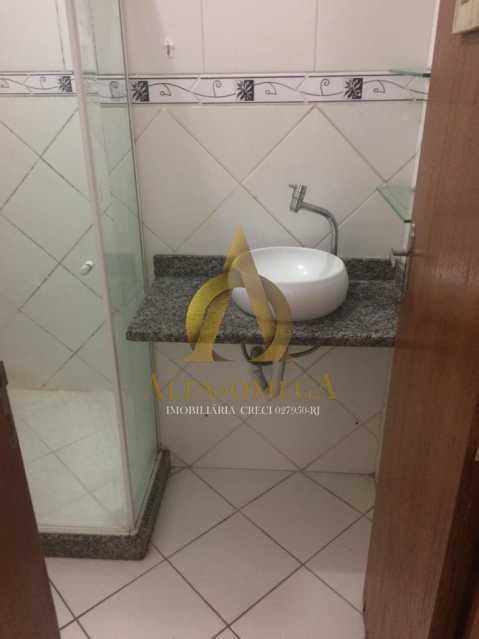 8 - Apartamento Rua Aloândia,Curicica, Rio de Janeiro, RJ À Venda, 2 Quartos, 51m² - AOJ20111 - 13