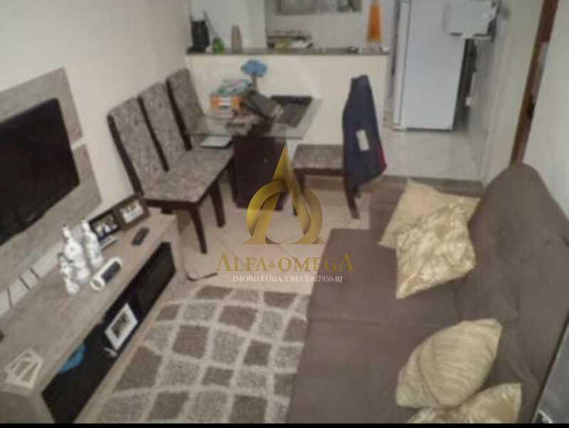 25 - Apartamento Rua Aloândia,Curicica, Rio de Janeiro, RJ À Venda, 2 Quartos, 51m² - AOJ20111 - 1