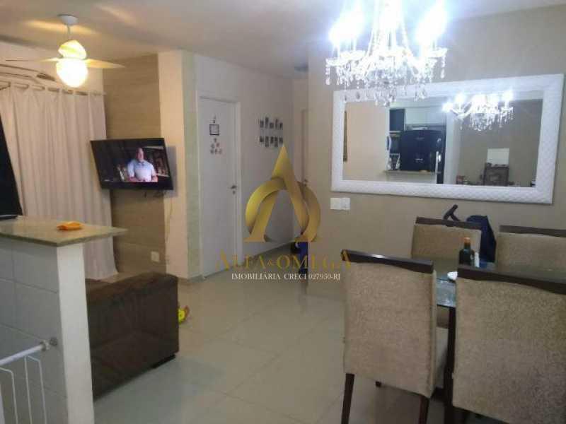 1 - Apartamento Estrada dos Bandeirantes,Jacarepaguá, Rio de Janeiro, RJ À Venda, 2 Quartos, 60m² - AOJ20112 - 1