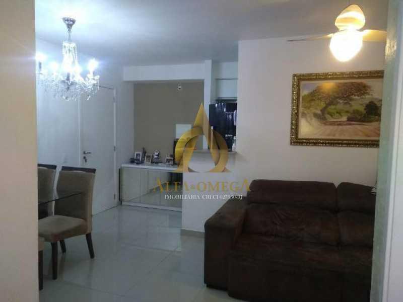 2 - Apartamento Estrada dos Bandeirantes,Jacarepaguá, Rio de Janeiro, RJ À Venda, 2 Quartos, 60m² - AOJ20112 - 3