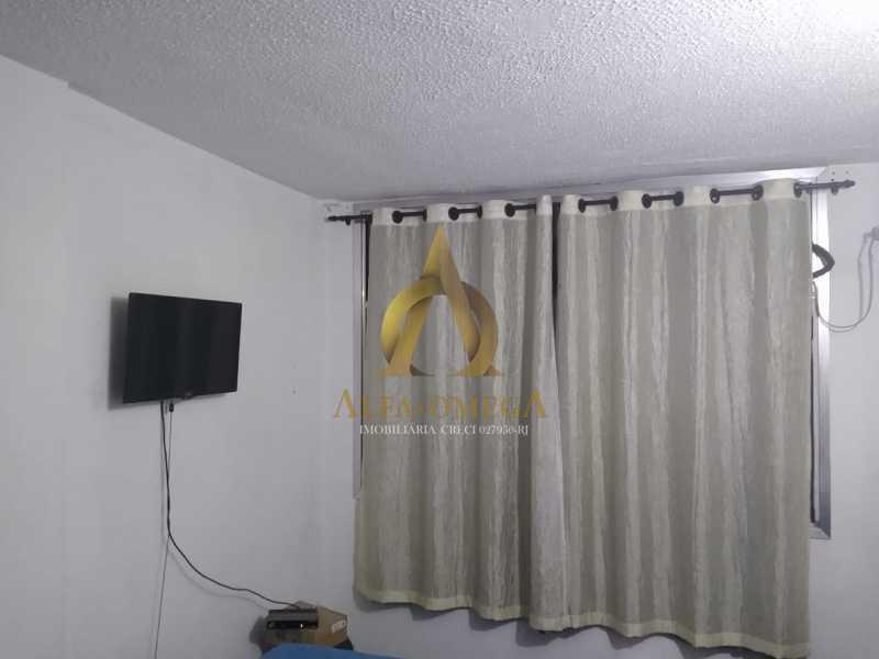 1 - Apartamento à venda Estrada do Cafundá,Taquara, Rio de Janeiro - R$ 240.000 - AOJ20116 - 3