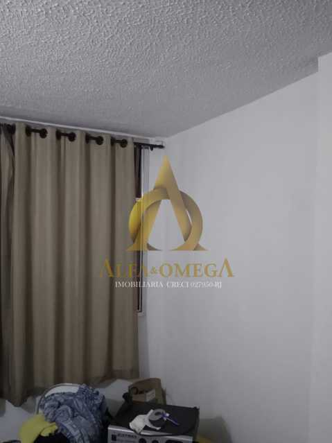 3 - Apartamento à venda Estrada do Cafundá,Taquara, Rio de Janeiro - R$ 240.000 - AOJ20116 - 5