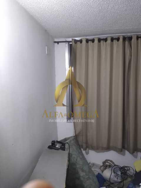 4 - Apartamento à venda Estrada do Cafundá,Taquara, Rio de Janeiro - R$ 240.000 - AOJ20116 - 6