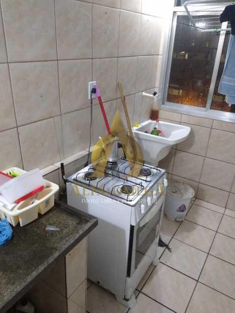 5 - Apartamento à venda Estrada do Cafundá,Taquara, Rio de Janeiro - R$ 240.000 - AOJ20116 - 11