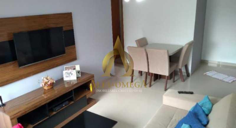 1 - Apartamento Rua Pajura,Taquara, Rio de Janeiro, RJ À Venda, 2 Quartos, 58m² - AOJ20117 - 1