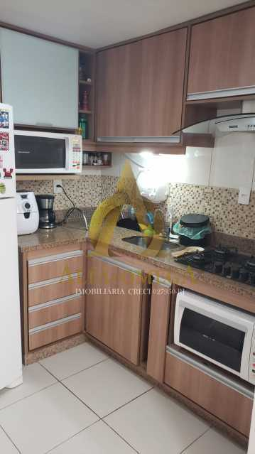 5 - Apartamento Rua Oswaldo Lussac,Taquara,Rio de Janeiro,RJ À Venda,2 Quartos,59m² - AOJ20118 - 23