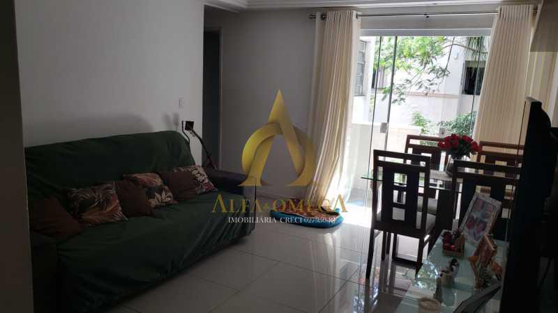 15 - Apartamento Rua Oswaldo Lussac,Taquara,Rio de Janeiro,RJ À Venda,2 Quartos,59m² - AOJ20118 - 1