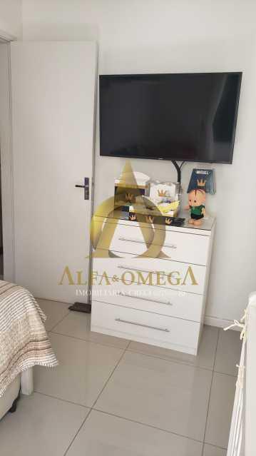 21 - Apartamento Rua Oswaldo Lussac,Taquara,Rio de Janeiro,RJ À Venda,2 Quartos,59m² - AOJ20118 - 12