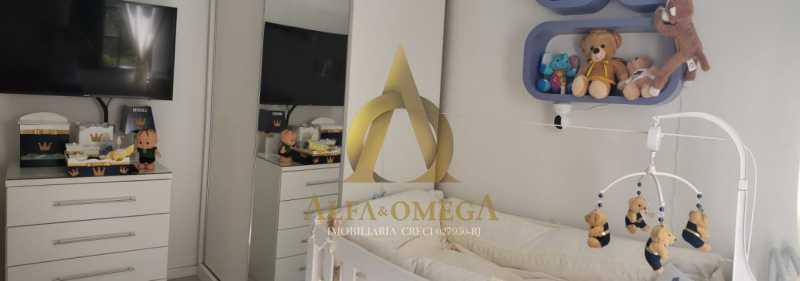 24 - Apartamento Rua Oswaldo Lussac,Taquara,Rio de Janeiro,RJ À Venda,2 Quartos,59m² - AOJ20118 - 9
