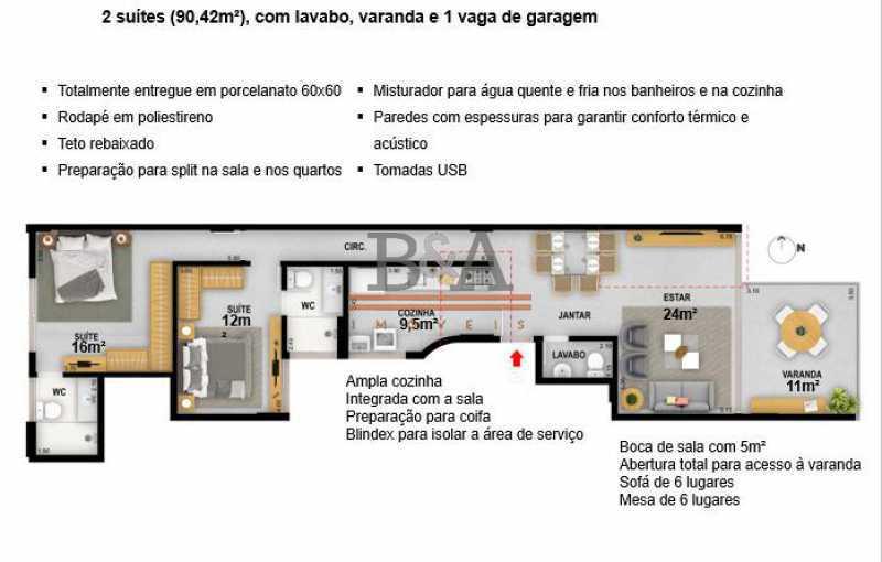 14 - Apartamento 2 quartos à venda Ipanema, Rio de Janeiro - R$ 2.299.000 - COAP20469 - 13
