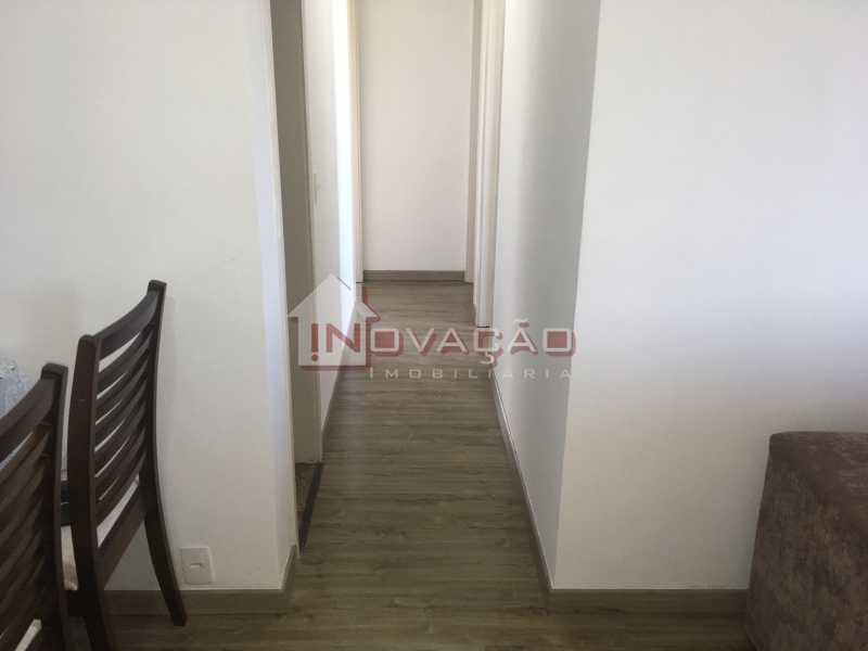 Corredor - Apartamento Estrada do Tindiba,Pechincha,Rio de Janeiro,RJ À Venda,3 Quartos,66m² - CRAP30089 - 6