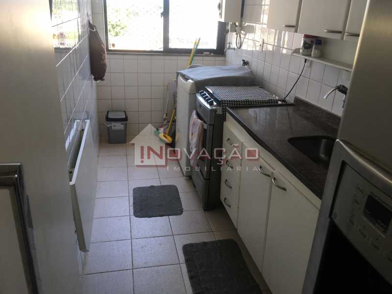 Cozinha 01 - Apartamento Estrada do Tindiba,Pechincha,Rio de Janeiro,RJ À Venda,3 Quartos,66m² - CRAP30089 - 4
