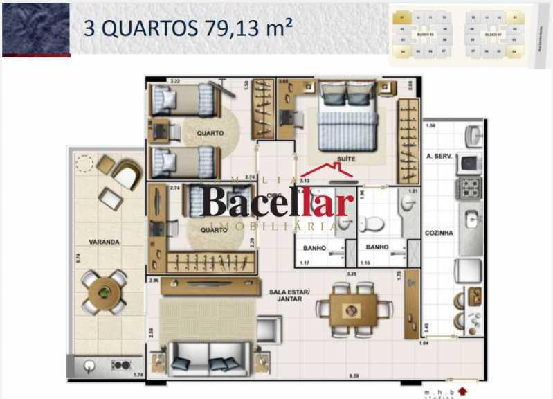 1 - Apartamento 3 quartos à venda Lins de Vasconcelos, Rio de Janeiro - R$ 457.100 - TIAP32711 - 1