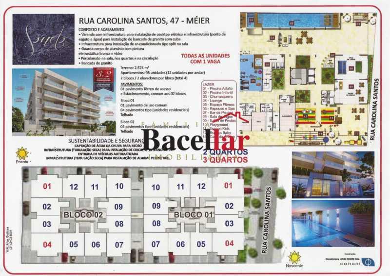 2 - Apartamento 3 quartos à venda Lins de Vasconcelos, Rio de Janeiro - R$ 457.100 - TIAP32711 - 3