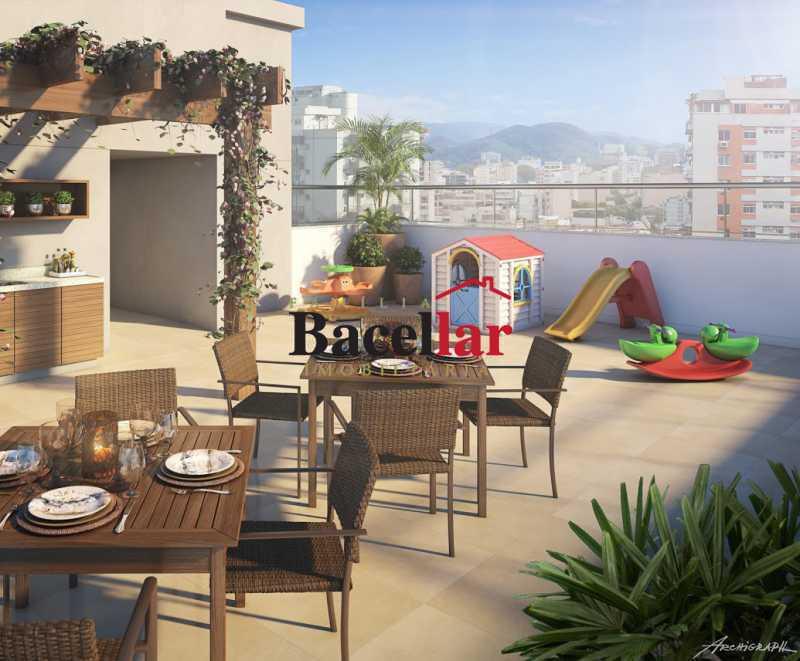 area externa - Apartamento 2 quartos à venda Rio de Janeiro,RJ - R$ 417.146 - RIAP20071 - 3