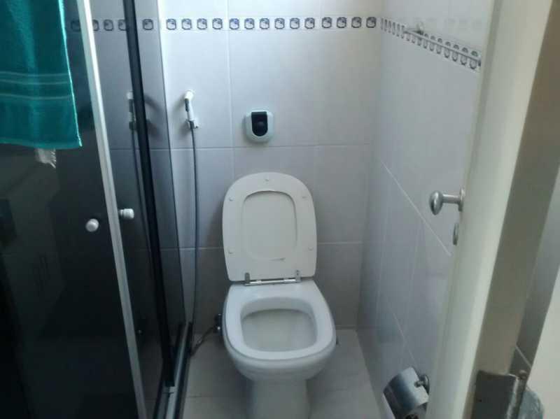 Banheiro 3. - Apartamento 2 quartos à venda Tijuca, Rio de Janeiro - R$ 320.000 - TIAP21126 - 7