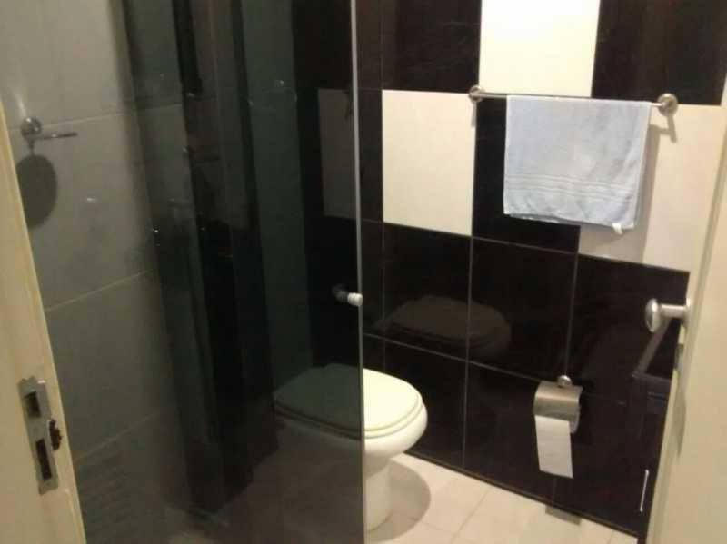 Banheiro Preto 2. - Apartamento 2 quartos à venda Tijuca, Rio de Janeiro - R$ 320.000 - TIAP21126 - 8