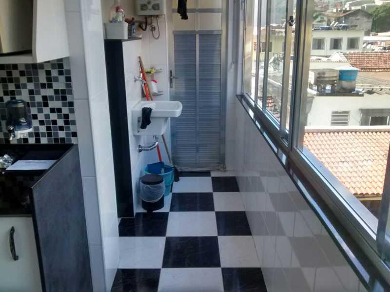 Cozinha 1. - Apartamento 2 quartos à venda Tijuca, Rio de Janeiro - R$ 320.000 - TIAP21126 - 12