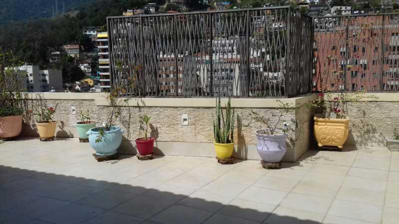 1 1. - Cobertura 2 quartos à venda Tijuca, Rio de Janeiro - R$ 750.000 - TICO20051 - 1