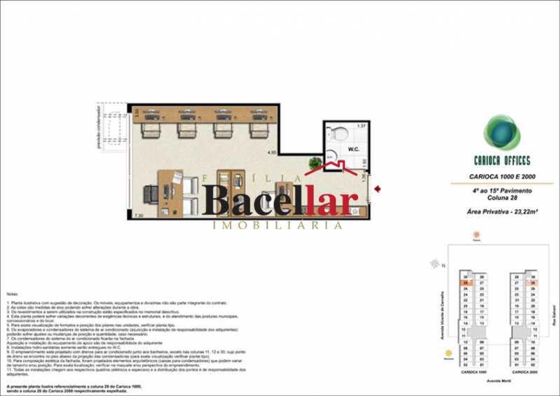 1 - Sala Comercial 32m² à venda Rio de Janeiro,RJ - R$ 178.000 - TISL00101 - 7