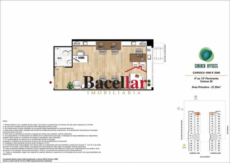 2 - Sala Comercial 32m² à venda Rio de Janeiro,RJ - R$ 178.000 - TISL00101 - 8