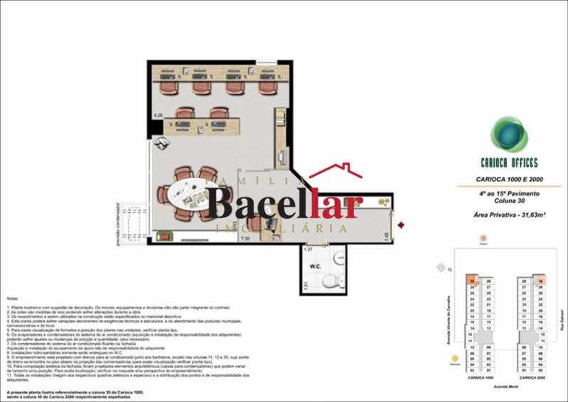 3 - Sala Comercial 32m² à venda Rio de Janeiro,RJ - R$ 178.000 - TISL00101 - 9