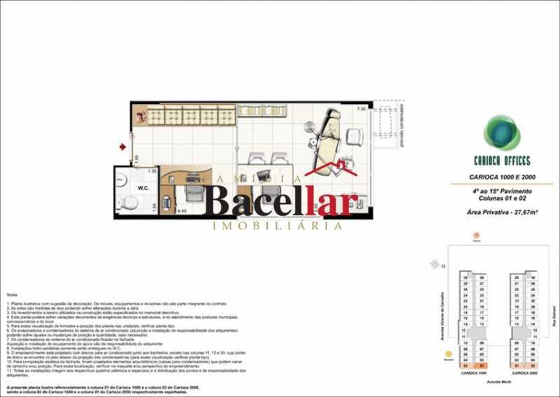 4 - Sala Comercial 32m² à venda Rio de Janeiro,RJ - R$ 178.000 - TISL00101 - 10
