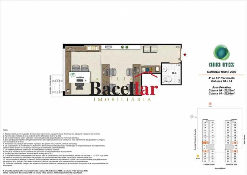 6 - Sala Comercial 32m² à venda Rio de Janeiro,RJ - R$ 178.000 - TISL00101 - 12