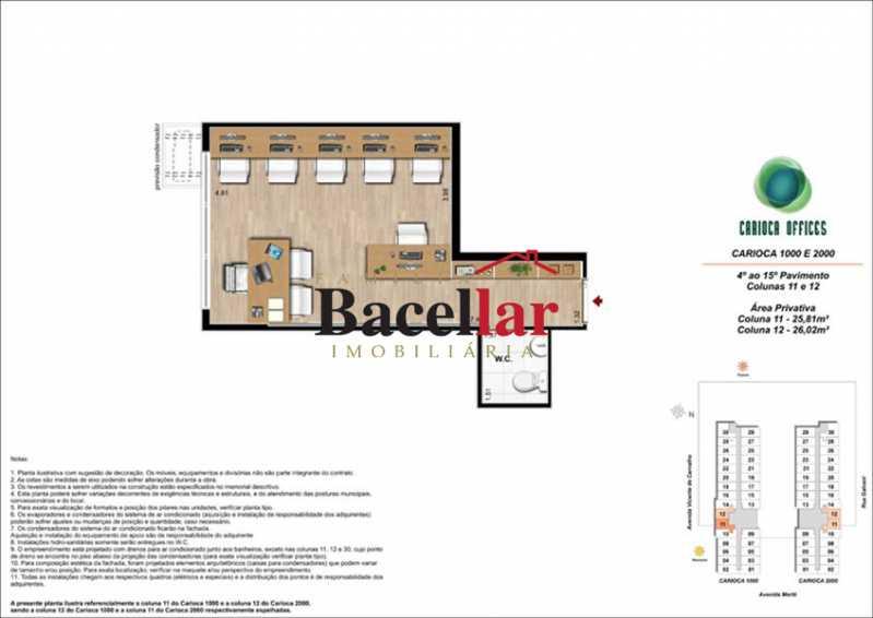 7 - Sala Comercial 32m² à venda Rio de Janeiro,RJ - R$ 178.000 - TISL00101 - 13
