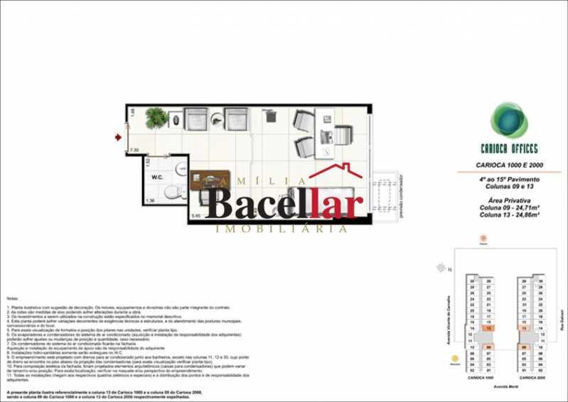 9 - Sala Comercial 32m² à venda Rio de Janeiro,RJ - R$ 178.000 - TISL00101 - 15
