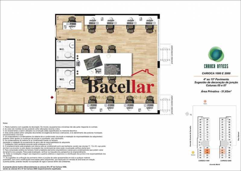 11 - Sala Comercial 32m² à venda Rio de Janeiro,RJ - R$ 178.000 - TISL00101 - 17