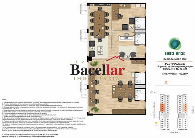 13 - Sala Comercial 32m² à venda Rio de Janeiro,RJ - R$ 178.000 - TISL00101 - 19