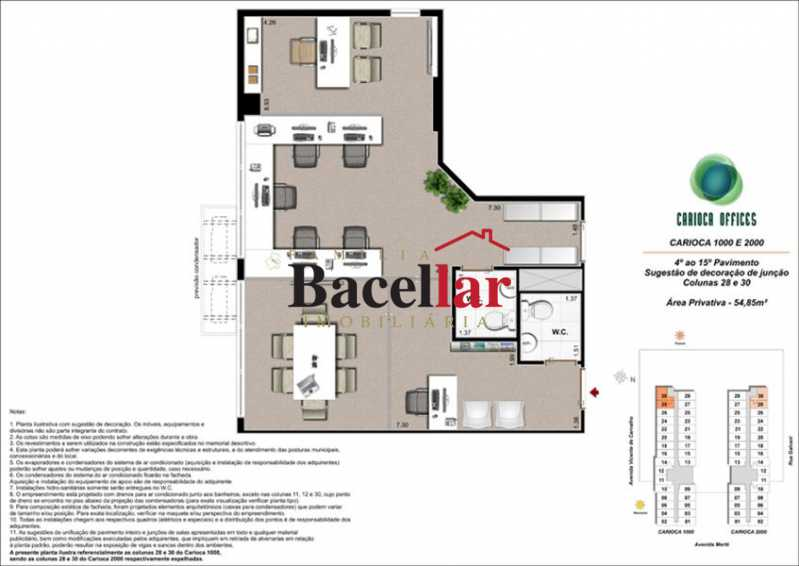 14 - Sala Comercial 32m² à venda Rio de Janeiro,RJ - R$ 178.000 - TISL00101 - 20