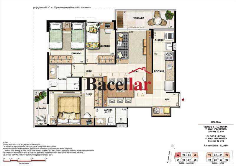 Imagem 1 - Imóvel Apartamento À VENDA, Campinho, Rio de Janeiro, RJ - TIAP31329 - 16