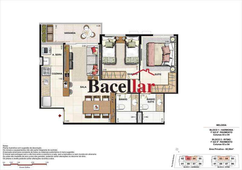 Imagem 2 - Imóvel Apartamento À VENDA, Campinho, Rio de Janeiro, RJ - TIAP31329 - 17