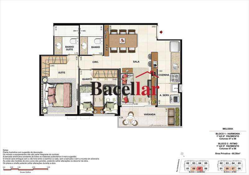 Imagem 3 - Imóvel Apartamento À VENDA, Campinho, Rio de Janeiro, RJ - TIAP31329 - 18