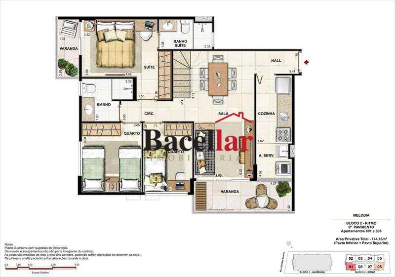 Imagem 4 - Imóvel Apartamento À VENDA, Campinho, Rio de Janeiro, RJ - TIAP31329 - 19