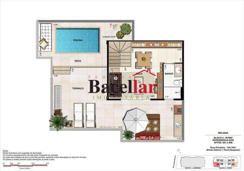 Imagem 8 - Imóvel Apartamento À VENDA, Campinho, Rio de Janeiro, RJ - TIAP31329 - 23
