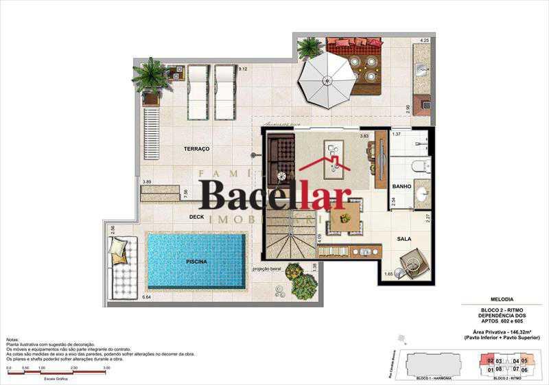 Imagem 9 - Imóvel Apartamento À VENDA, Campinho, Rio de Janeiro, RJ - TIAP31329 - 24