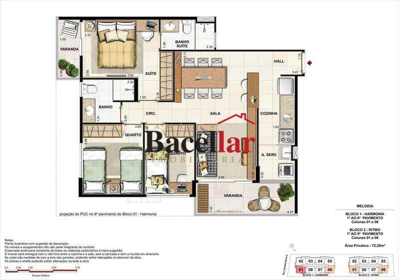 PL1 - Imóvel Apartamento À VENDA, Campinho, Rio de Janeiro, RJ - TIAP31329 - 27