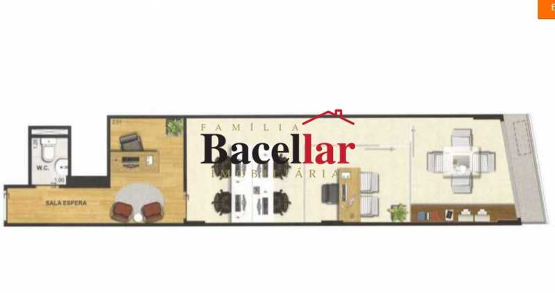 11 - Sala Comercial 38m² para venda e aluguel Tijuca, Rio de Janeiro - R$ 640.000 - TISL00108 - 11