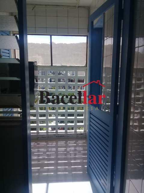área - Apartamento 1 quarto à venda Grajaú, Rio de Janeiro - R$ 320.000 - TIAP10671 - 22