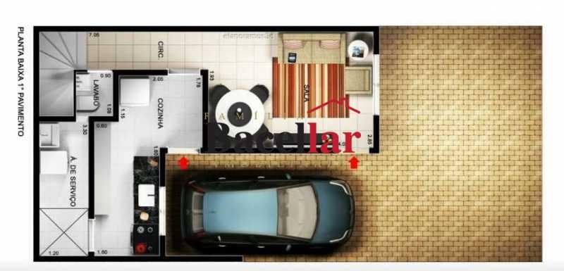 3 - Casa em Condomínio 2 quartos à venda Campo Grande, Rio de Janeiro - R$ 190.000 - TICN20024 - 13