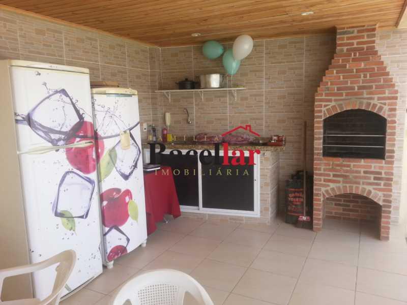 Churrasqueira - Casa à venda Rua Barão de Cotegipe,Vila Isabel, Rio de Janeiro - R$ 1.000.000 - TICA30132 - 8