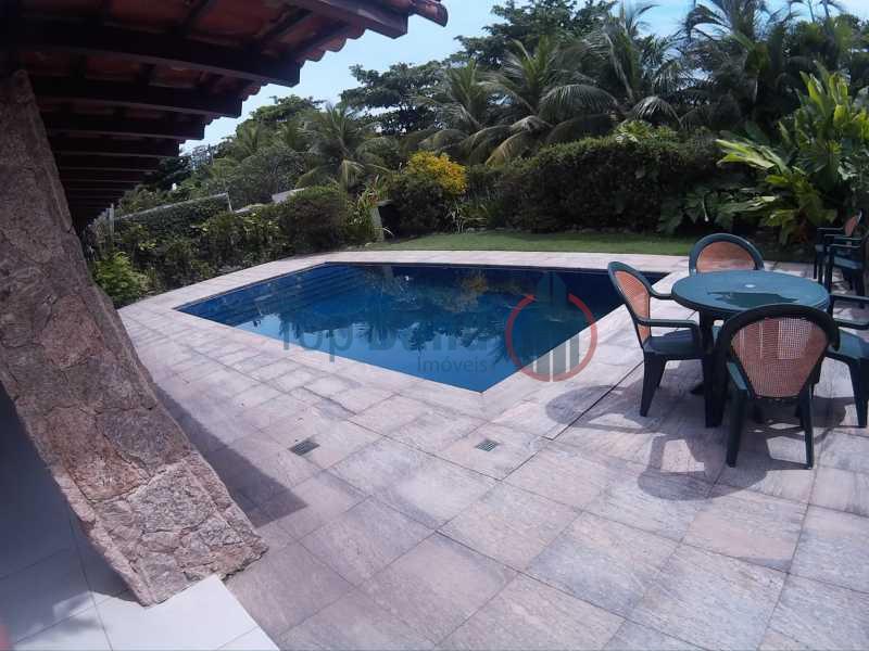 17120015 - Casa em Condomínio à venda Avenida Rosalina Coelho Lisboa,Barra da Tijuca, Rio de Janeiro - R$ 3.500.000 - TICN40002 - 1